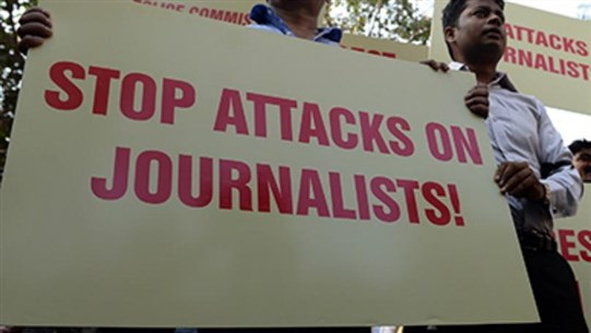 Threat to Journalists at Highest Level in 10 Years, Report Says