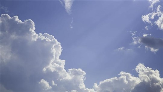 Weather: Little to partly cloudy, rising temperatures