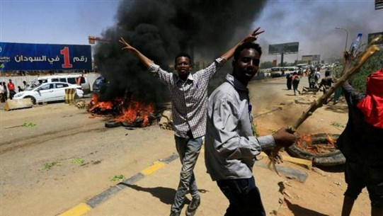 Four killed in Sudan protests, military rulers say they will not allow chaos