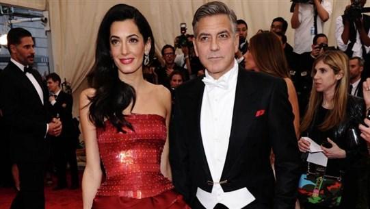 George Clooney Fears For Family as Wife Amal Seeks Justice For ISIS Victims