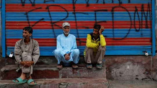 Indian authorities lock down Kashmir's major city on Eid holiday