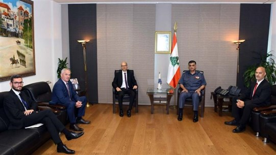 Othman receives French Security Attaché