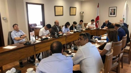 Chinese delegation visits Zahle Chamber of Industry and Commerce