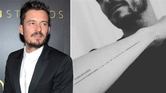 Orlando Bloom Misspells Son's Name in New Tattoo