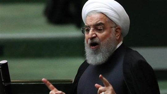 Reuters: Rouhani says Iran will not negotiate with US under pressure