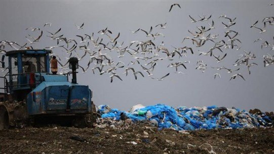 More than 1200 Landfill Sites at Risk of Spilling into Sea