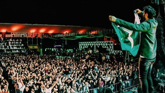 Stage Collapses at Pakistan Music Festival As Hundreds Storm Venue
