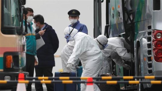 Two passengers from coronavirus-hit cruise ship in Japan die as public criticism grows