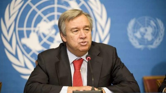 Guterres relays to Hitti readiness to assist Lebanon after reforms