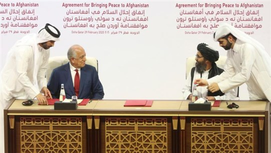 US and Taliban Sign Peace Deal in Bid to End 18-Year War in Afghanistan