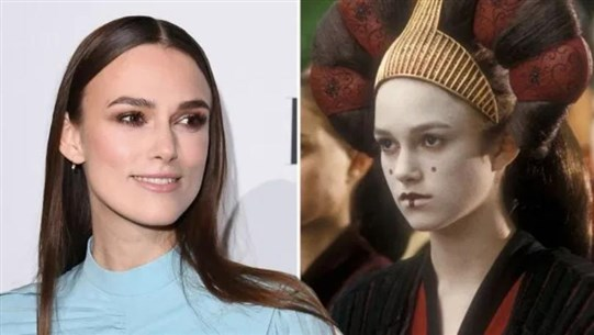 Keira Knightley Reveals She Fell Asleep During Filming of Star Wars: The Phantom Menace