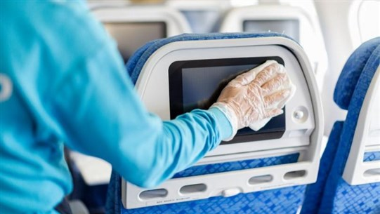 How to Disinfect Your Plane Seat and Keep Yourself Safe on Board