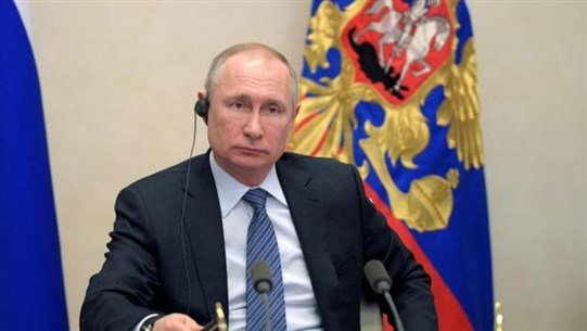 Putin, at G20 summit, proposes lifting sanctions on essential goods amid coronavirus