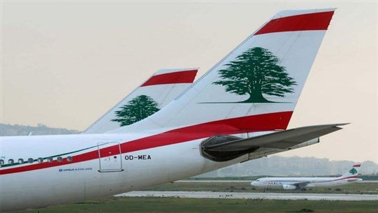 Seven MEA flights to land at Beirut Airport today