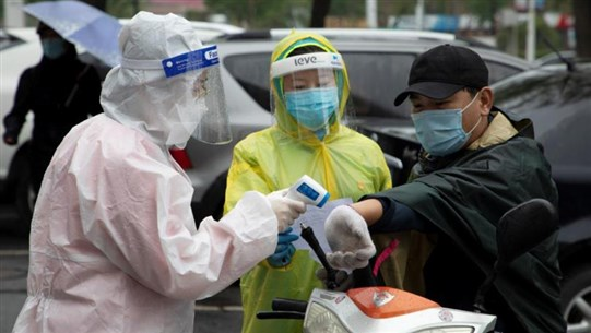 China reports no new coronavirus cases for first time since pandemic began