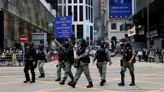 China public security ministry pledges to 'direct and support' HK police