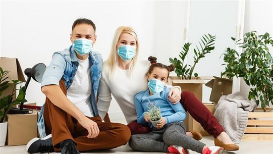 Wearing a Face Mask at Home Could Limit Spread of COVID-19, Study Says