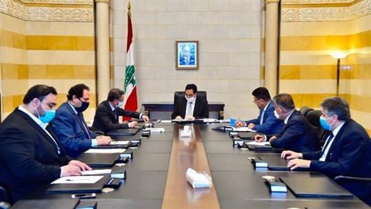Diab meets gas station owners' delegation, Customs' successful candidates