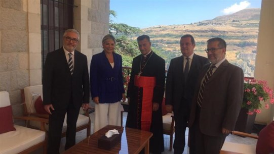 Rahi receives Lebanese Forces delegation: Patriarch's position turning point in current Lebanese juncture