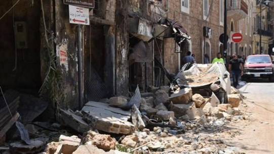 MSF teams providing medical and mental health support to Beirut's most affected communities