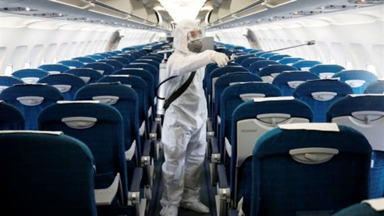 Coronavirus Can Spread on Airline Flights, Two Studies Show