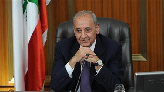 Berri: I asked Macron to pressure Total in order to avoid the delay of offshore gas exploration