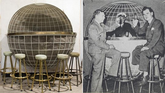 Hitler's Globe-Shaped Drinks Bar Going on Sale After Spending 70 Years in Barn