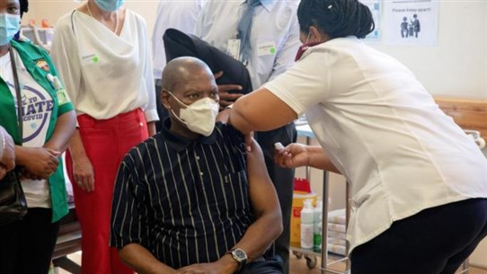 South Africa says J&J, Pfizer, Moderna vaccines considered for 'immediate use'