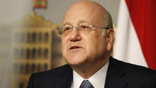 Mikati receives call from Jordanian monarch