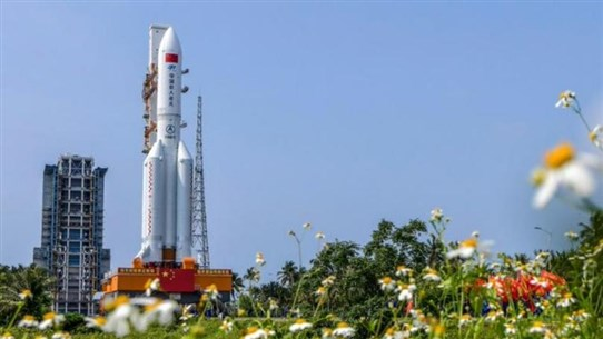 AFP citing state television: China launches first module for new space station