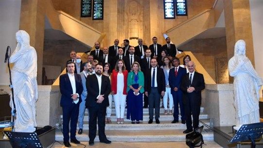 """Mortada launches """"Beirut Hope"""" event marking World Music Day in presence of Abdel Samad"""