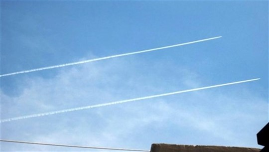 Israeli warplanes are flying over Nabatieh, Iqlim al-Tuffah and the southern coast and have launched mock raids at very low altitudes
