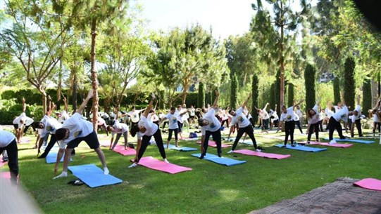 """Indian Embassy organizes """"International Day of Yoga"""" event in Beirut"""