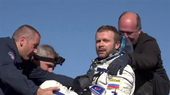 Russian Actor and Director Making First Movie in Space Return Safely to Earth