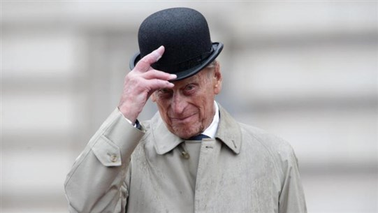 AFP: Gun salutes fired across UK and at sea for Prince Philip