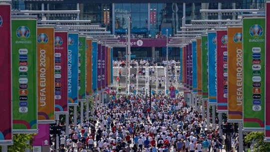 AFP: World Health Organization (WHO) says 'concerned' about eased coronavirus restrictions around EURO 2020 games