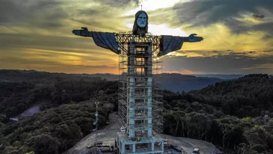 New Christ Statue Being Built in Brazil to Be Taller Than 'Christ the Redeemer'
