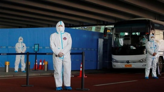 WHO team arrives in China's Wuhan to investigate COVID-19 origins