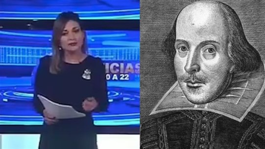 Reporter Mistakenly Announces That Playwright William Shakespeare Had Just Died